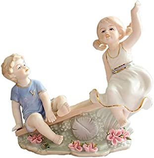 JJDSN Estatuilla de Adorno para decoración del hogar, Regalos creativos de Boda, decoración Moderna para Sala de Estar, Ad...