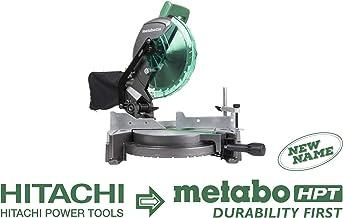 Metabo HPT C10FCG 10-Inch Compound Miter Saw, 15-Amp Motor, Single Bevel, 0-52 Degree..