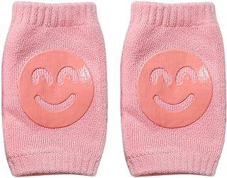 rosa gamba Pad Crawling bambino ginocchiere sicurezza Protector Zooarts 1/paio Toddler Baby regolabile gomito del ginocchio