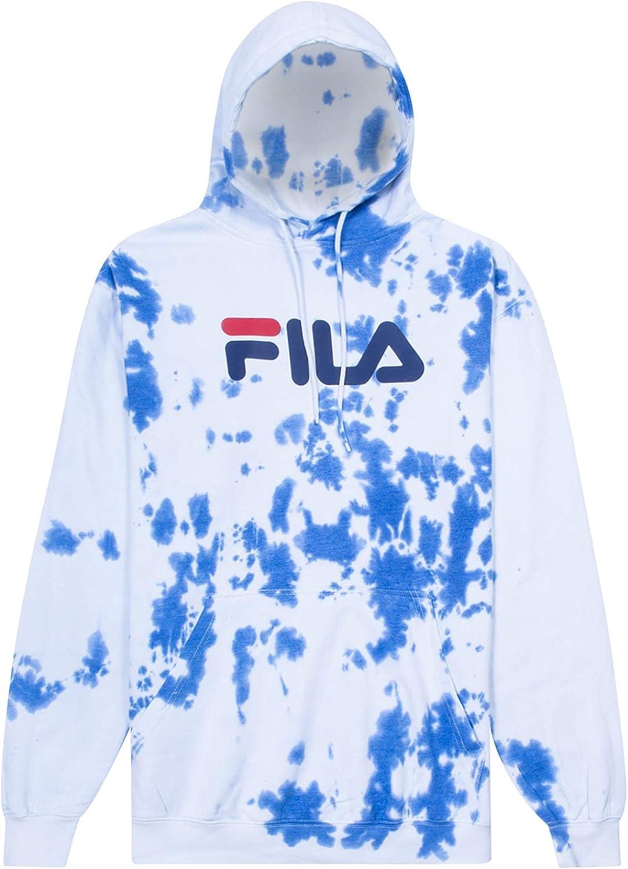 Fila Mens Big and Tall Pullover Fleece Hoodie Sweatshirt