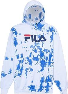 Fila Hoodie Mens Hoodies Pullover Big and Tall Fleece Hoodie Sweatshirt