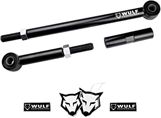 WULF Forged Steel Adj Track Bar for 1999-2004 Ford F250 F350 Super Duty 4WD (0-6