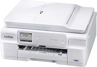 brother A4インクジェットプリンター複合機/白モデル/10/12ipm/両面印刷/有線・無線LAN/ADF DCP-J957N-W