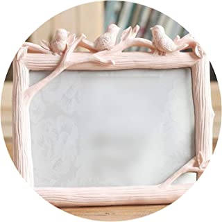 Wedding Photo Frames Home Decor Bridal Picture Frames Shower Favor Gifts Transverse Vertical Styles,Transverse White,7 inch