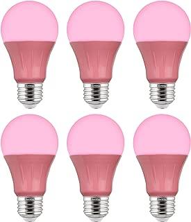 4 Pack Bulbrite 75BR30P Pink 246075 75W BR30 Reflector 120 Volt Wide Flood