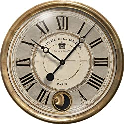 Trademark Time Co. Hotel De La Reine Clock Pendulum