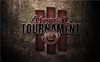 Twenty-threeUnreal Tournament Logo 24X36 Inch Poster Print 35