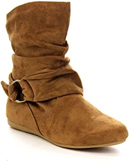 womens tan flat ankle boots