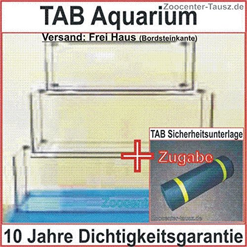TAB Aquarium Rechteck LxBxH 130x50x60cm / Liter 390 / Glas 10mm