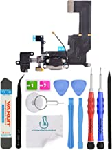 OmniRepairs Charging USB Dock Port Flex Cable Replacement with Microphone, Headphone Audio Jack Assembly Compatible for iPhone 5c Model (A1456 and A1532) with Repair Toolkit