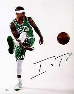 Isaiah Thomas Autographed Signed Memorabilia 11x14 Photo JSA Coa Signature Autograph Boston Celtics Auto