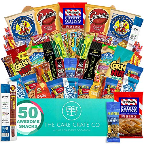 The Care Crate Man Box Ultimate Men's Snack Box Care Package (...
