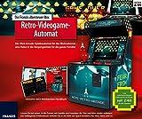 Die FRANZIS Abenteuer-Box Retro-Videogame-Automat: Der Mini-Arcade-Spielautomat für das Wohnzimmer!...
