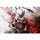 Rompecabezas para Adultos Puzzle de 1000 Piezas Ezio Auditore Rompecabezas Imposible Assassin'S Creed 2 Rompecabezas del desafío del Cerebro 38x26cm