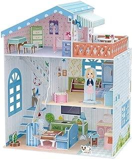 CUBICFUN Dollhouse Sea-sideVilla  P683h 3D Puzzle 112 Pieces