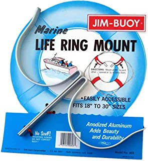 Taylor Made Products 2016 Stainless Steel Life Ring Holder (J-Hooks)