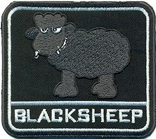 Blacksheep black sheep schwarzes Schaf heavy metal punk biker Aufnäher Patch