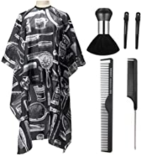 Professional Barber Cape,Polyester Hair Cutting Salon Cape,Water And Stain Resistant Apron,Cutting Hair Beard Hairdressing...