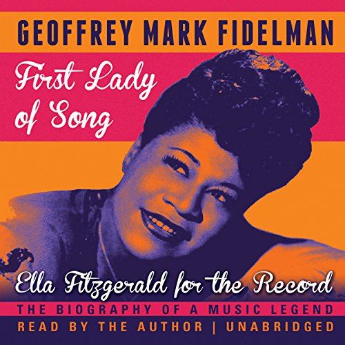 First Lady of Song audiobook cover art