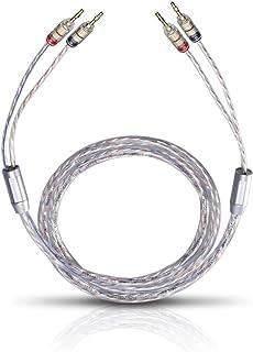 Oehlbach 10739 TwinMix 2 Câbles haut parleur 2 x 5,0 m Banane