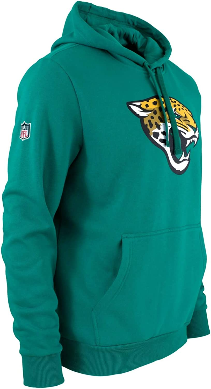 Azul-Verde NFL Jacksonville Jaguars Team Logo Hoodie New Era