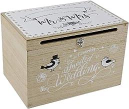 Home Collection - Hucha de madera para tarjetas y regalos de dinero (30 x 20 x 20 cm)