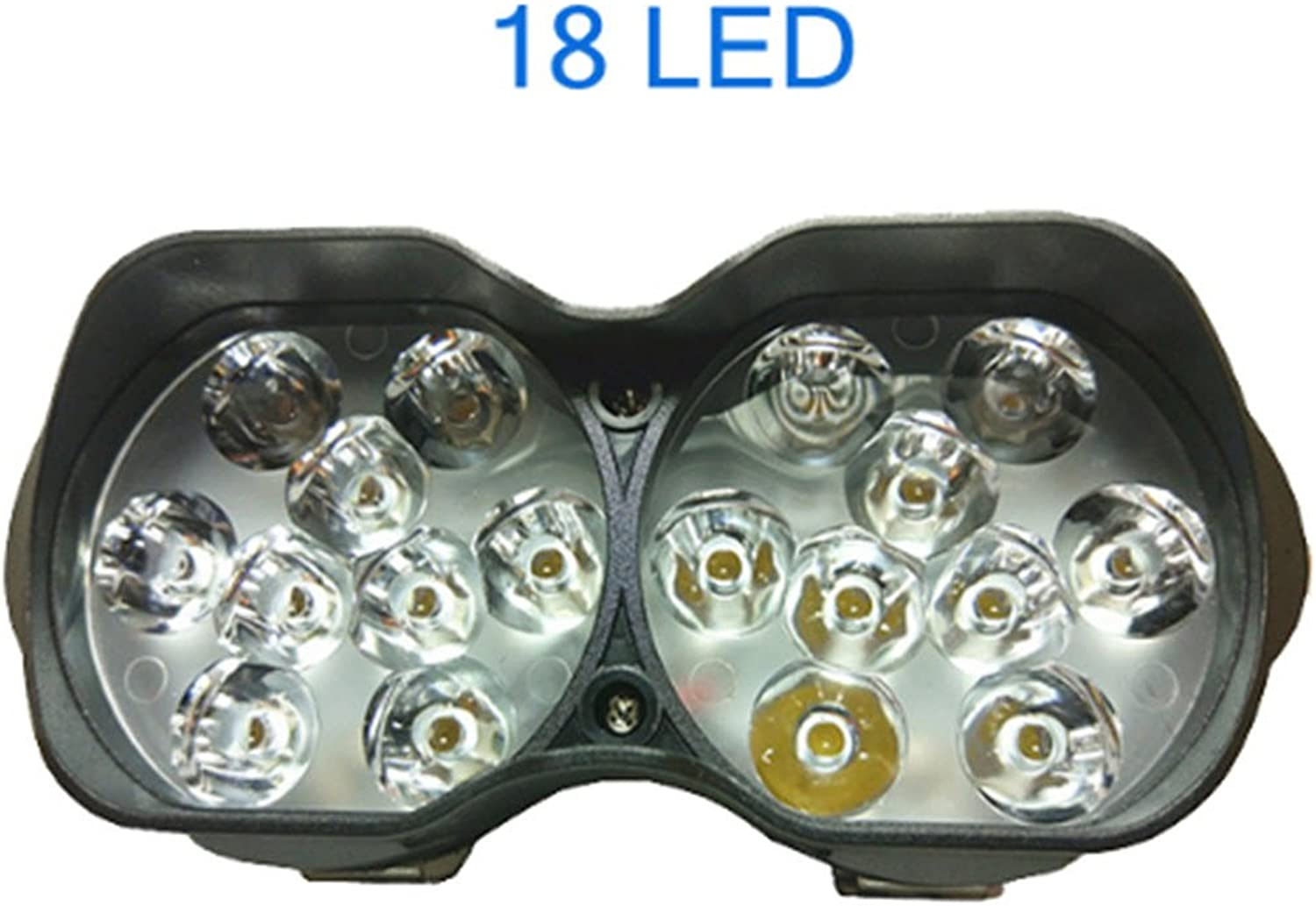 Scooter Super Bright 1500lm Motorcycles Led Headlight Fog Spotlight DRL Working lamp Motorcycle Accessories 12V 6500K