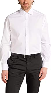 eterna Modern Fit Shirt long sleeve white W43, Länge Normal (65cm)