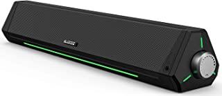 Computer Speakers, Dynamic RGB Computer Sound Bar, HiFi...