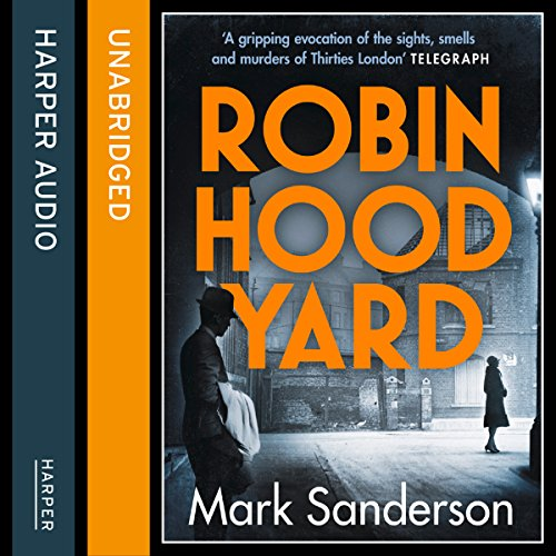 Robin Hood Yard audiobook cover art
