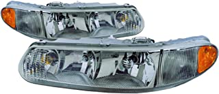 For Buick Century Headlight 1997 1998 1999 2000 2001 2002 2003 2004 2005 Driver and Passenger Side Headlamp Assembly Replacement