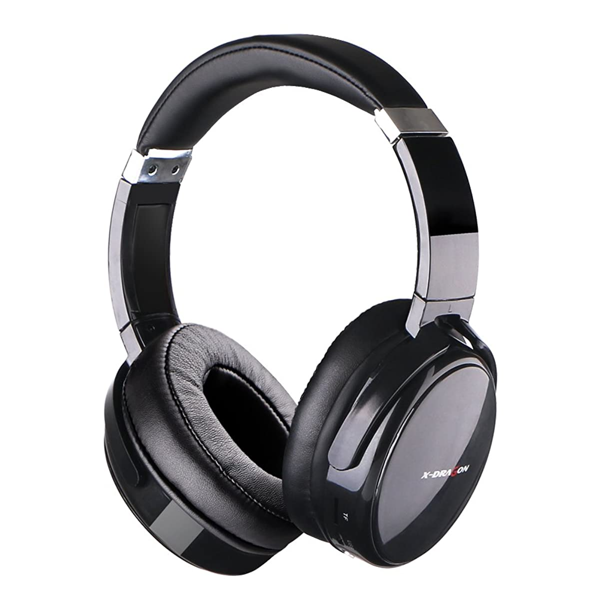 Bluetooth Headphones Over Ear X-DRAGON Active Noise Cancelling Wired and Wireless Headset with Microphone, Hi-Fi Deep Bass, Comfortable Protein