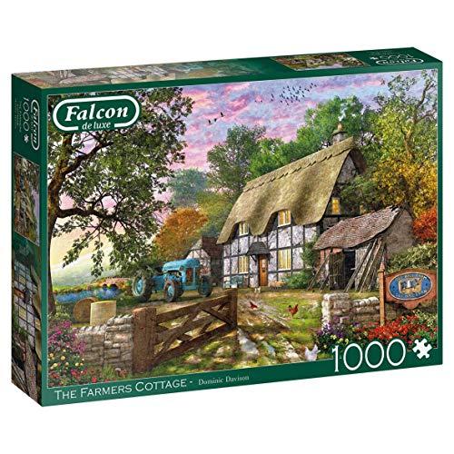 Jumbo 11278 Falcon de Luxe-The Farmer's Cottage Puzzle 1000 Teile
