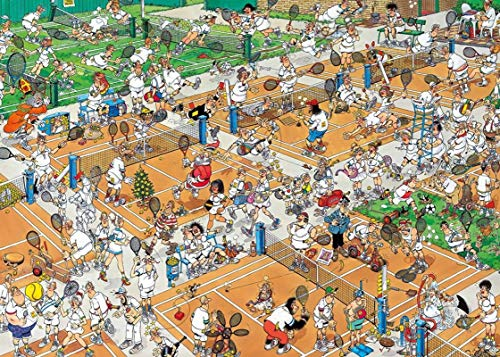 Animation Puzzles, Wooden Puzzles 300/500/1000 Pieces, Tennis Court Adult Creative Gift Decompression Jigsaw Puzzles Cartoon Educational Toys for Children (Size : 500)