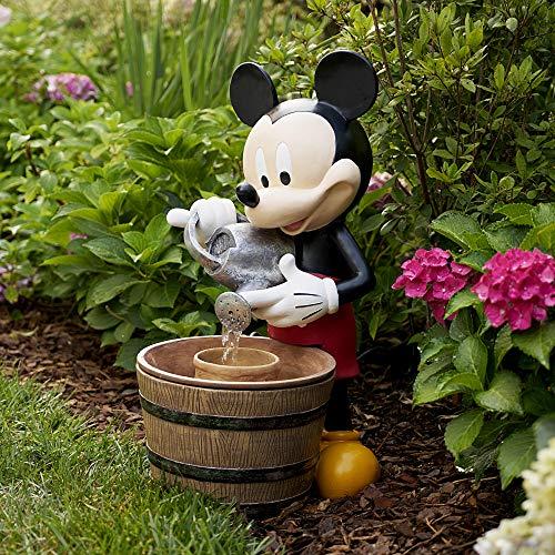 Mickey Mouse Outdoor Fountain and Flower Garden Planter