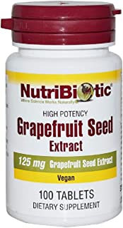 Grapefruit Seed Extract 125 mg 100 Tablets