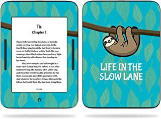 MightySkins Skin Compatible with Barnes & Noble Nook GlowLight 3 (2017) - Slow Sloth | Protective, Durable, and Unique Vinyl Decal wrap Cover | Easy to Apply, Remove | Made in The USA