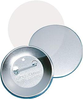 "Badge-A-Minit 3011-C 2 1/4"" Genuine Badge-A-Minit Pin-Back Button Sets - 100 Sets"