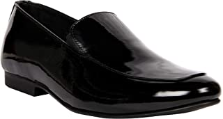 Franco Leone Black Men's Formal Shoes