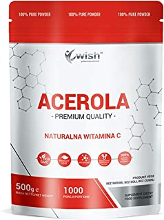 Wish Pharmaceutical Acerola Natural Vitamina C Paquete