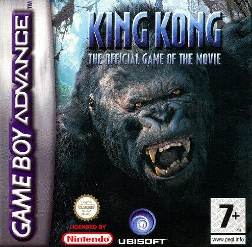 Ubisoft King Kong - Juego (GBA, Game Boy Advance, Acción, E10 + (Everyone 10 +), Game Boy Advance)