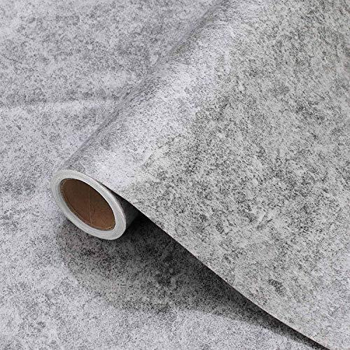 IKINLO Möbelfolie selbstklebend Dekofolie 61X500 CM Marmor Folie Klebefolie PVC Aufkleber ölbeständig Kücheschrankfolie wasserdicht Tapete für Möbel Arbeitsplatte Couchtisch Bad