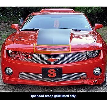 APS Compatible with 2005-2009 Mustang GT V8 Hood Scoop Billet Grille S18-A51066F