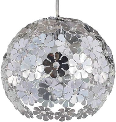 D 56 cm Hängeleuchte FLOWER Kunststoff weiß NINO LEUCHTEN 31410107
