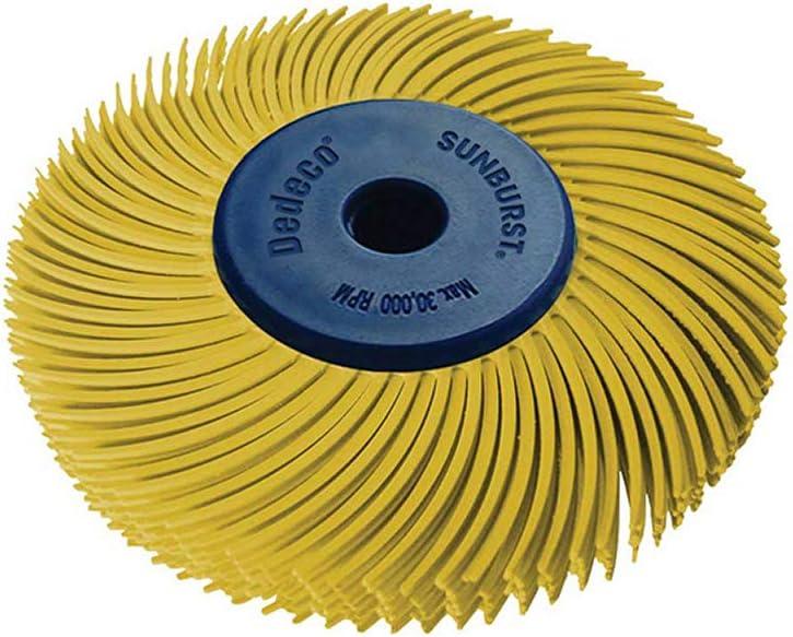 Dedeco Sunburst - 2 Inch TC 6-PLY Branded 1 year warranty goods Radial Inc 4 Bristle 1 Discs