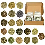YoleShy Dried Herbs for Spells, Magical Witch Herbs for Witchcraft, Wicca, Pagan, Witchcraft Supplies - Dry Witch Herbs Set of 20