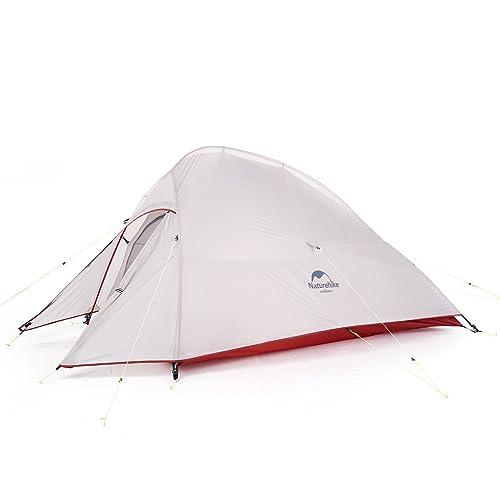 Naturehike Nouveau Cloud-up 2 Tentes Légères 2 Personnes 3-4 Saisons pour la randonnée en Camping