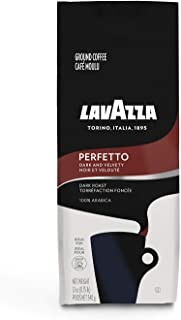 Lavazza Perfetto Ground Coffee Blend, Dark Roast, 12-Ounce Bags (Pack of 6)