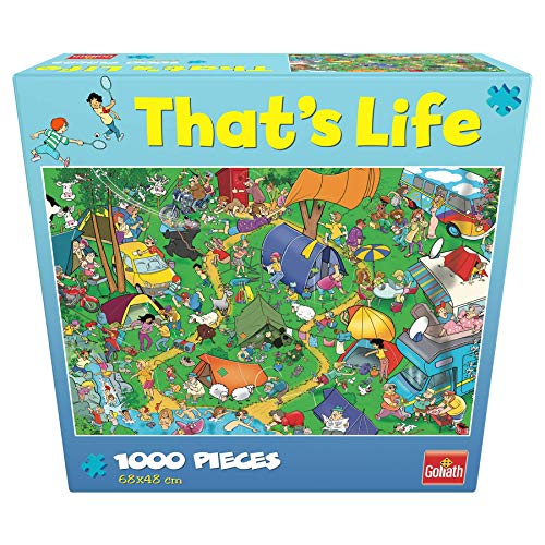 Goliath- Puzzle Camping That's Life, Multicolor (919261006)
