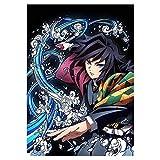 Kimetsu no Yaiba Poster Kamado Nezuko XUNMOWEI Demon Slayer Anime Giapponesi Wall Art Poster e Pittura per la Casa della Stanza